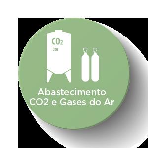 abastecimento co2 e gases do ar